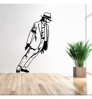 fabricado en vinilo precortado reutilizable con la temática Michael Jackson