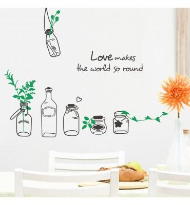 tarros  cocina Love makes