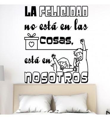 Vinilo de frases decorativas en español