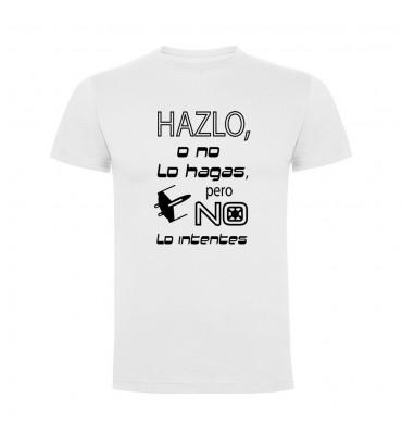 Camisetas con frases motivadoras fabricadas en 100% algodón de serie limitada con la frase Hazlo